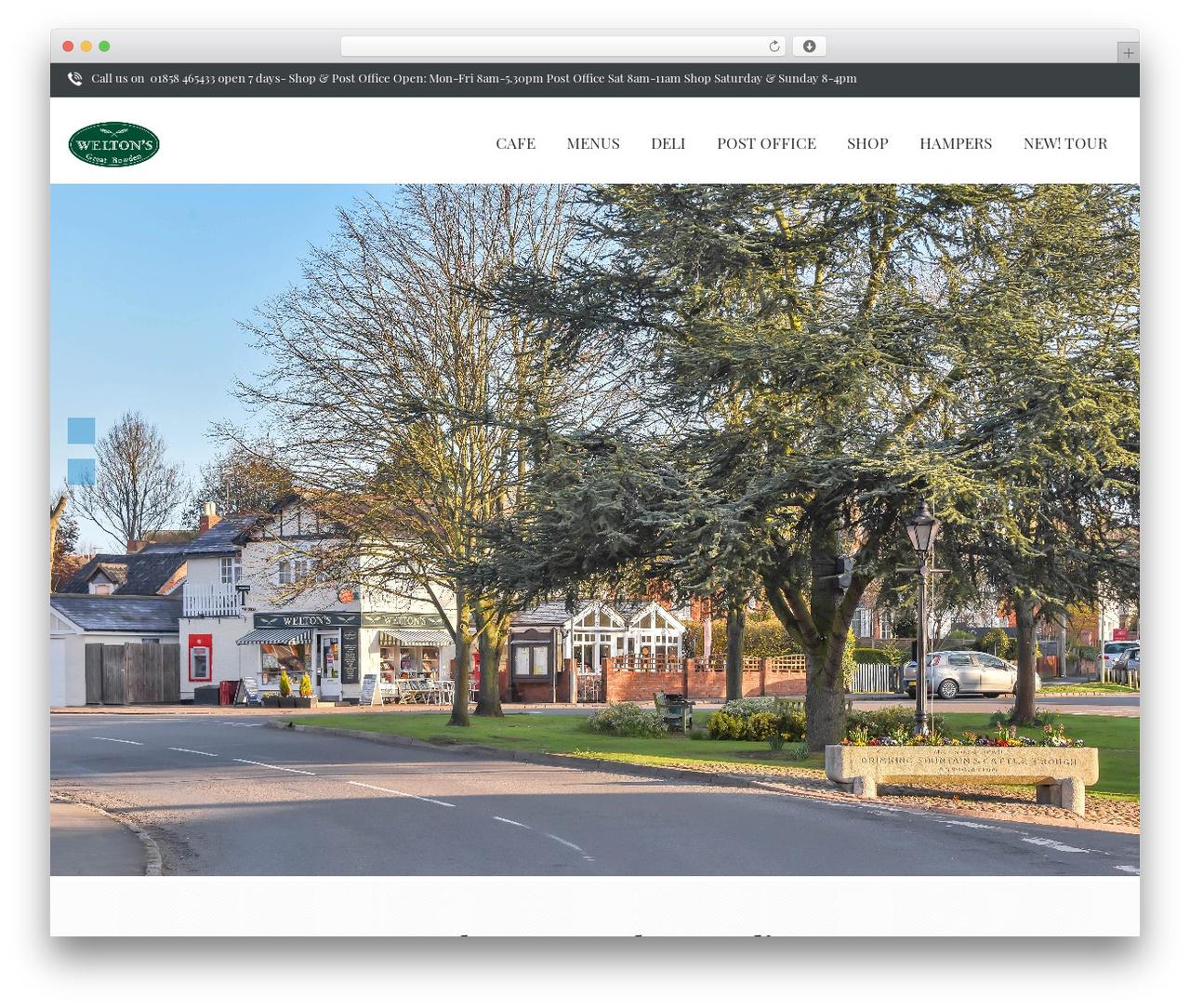 One Page WordPress free download - weltonsdeli.co.uk