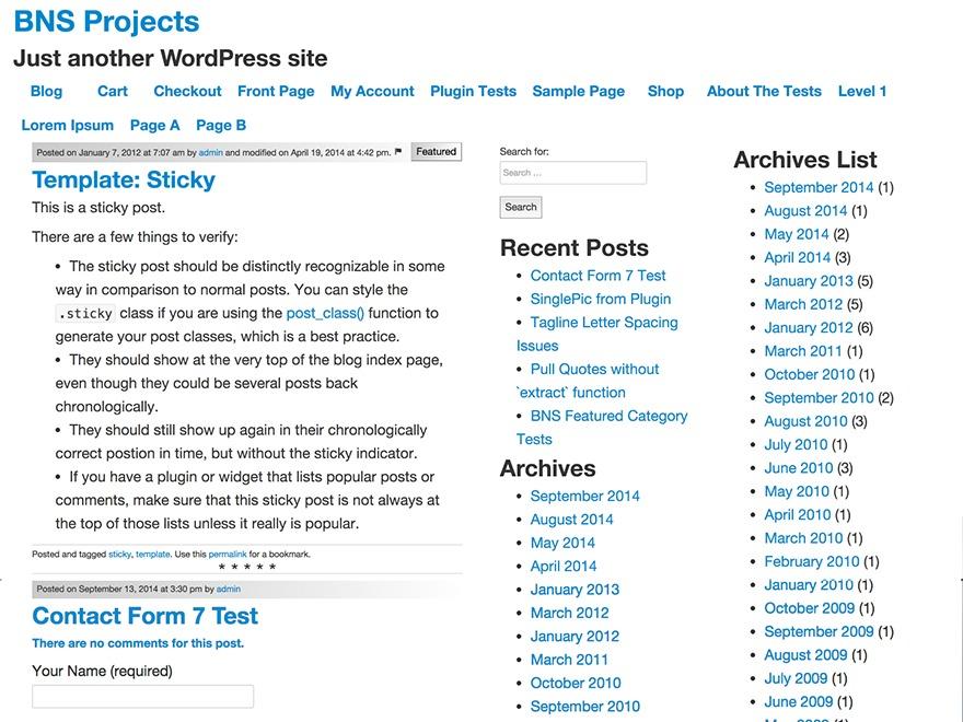 Opus Primus WordPress video template