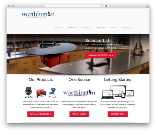 PerSempre WordPress theme - worthingtoncf.com