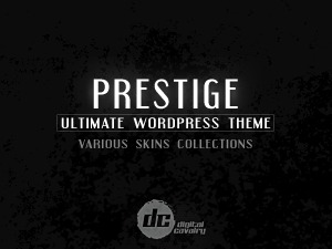 Prestige Ultimate Wordpress Theme personal blog WordPress theme