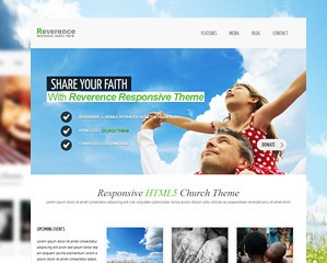 Reverence business WordPress theme