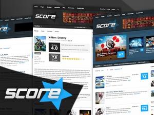 Score best WordPress template
