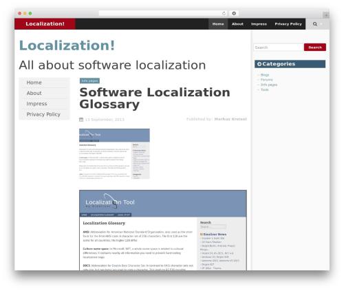 SmartAdapt best free WordPress theme - www-localization.com
