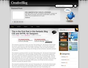 Smoky template WordPress free