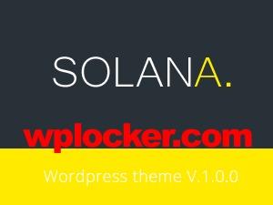 Solana WP theme