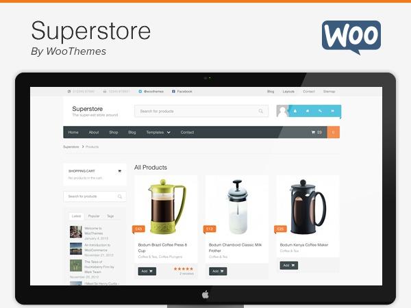 Superstore Child WordPress ecommerce template
