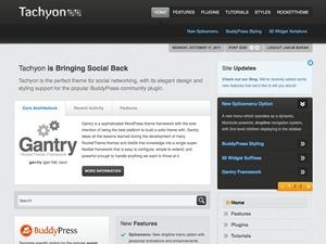 Tachyon WordPress template