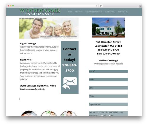 Theme WordPress Altitude Pro Theme - woodcomeins.com