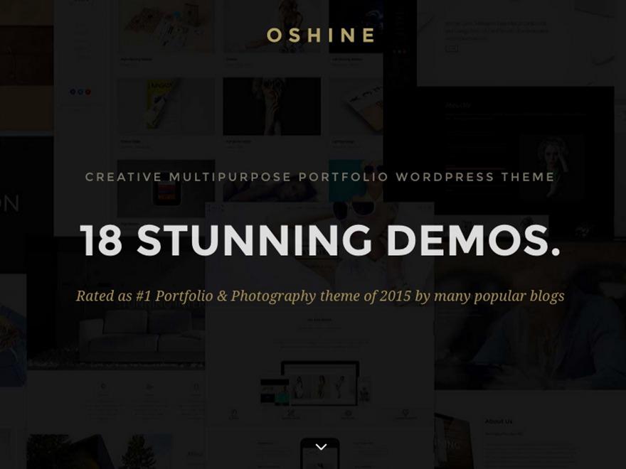 Theme WordPress Oshin Child
