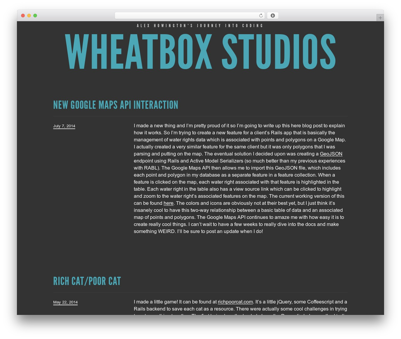 Trvl WordPress theme - wheatboxstudios.com