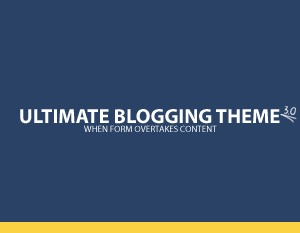 Ultimate Blogging Theme WordPress blog template