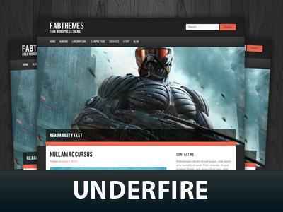 Underfire theme WordPress
