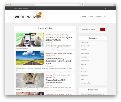 Free WordPress Meks Flexible Shortcodes plugin - wpburner.com