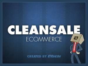 WordPress theme Clean Sale