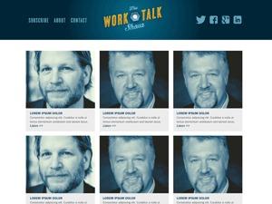 Work Talk Show theme WordPress