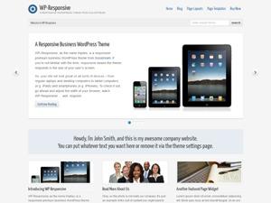 WP-Responsive WordPress theme