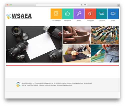 WP theme Second touch - wsaea.com