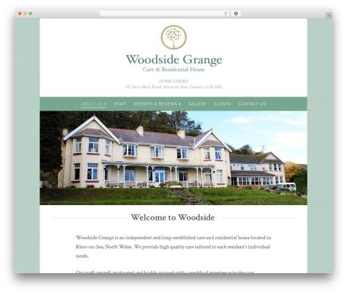WordPress x-shortcodes plugin - woodsidegrangecare.com