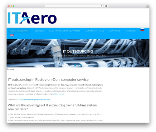 AccessPress Lite best WordPress theme - itaero.ru