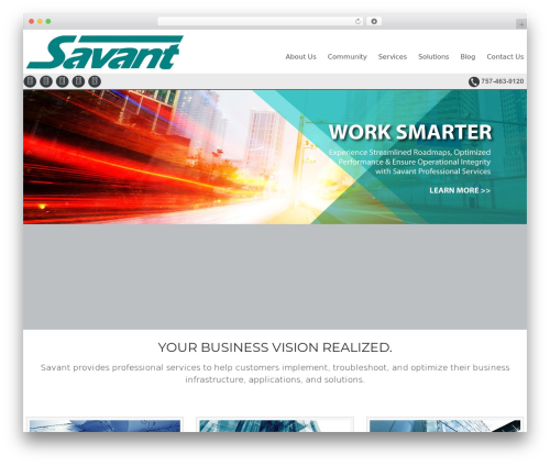 Celestial Reloaded business WordPress theme - infratechsure.com