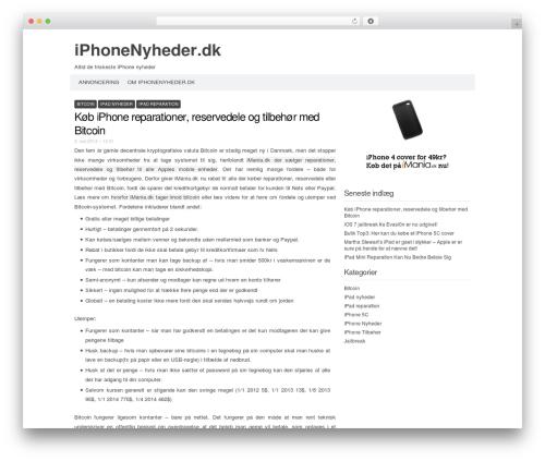 Codium Extend top WordPress theme - iphonenyheder.dk