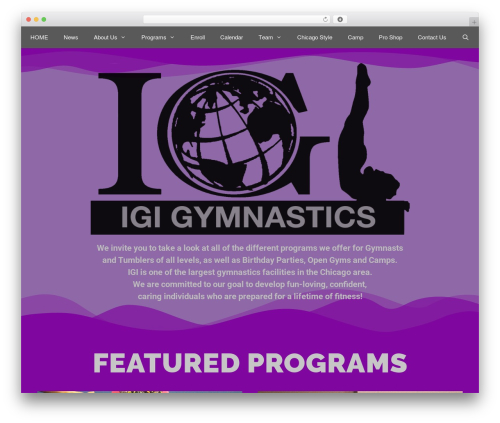 GeneratePress WordPress theme free download - igigymnastics.com