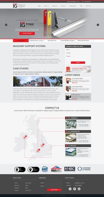 WordPress template IG by Ciel Design - ingagilchrist com au