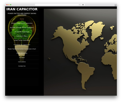 Portfolio Gallery WordPress template free download - irancapacitor.ir