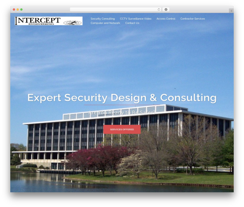 Sydney best WordPress template - interceptengineering.com