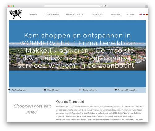 Best WordPress theme Jupiter - indezaanbocht.nl