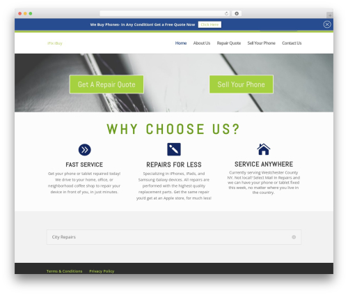 Divi WordPress theme - ifixibuy.com