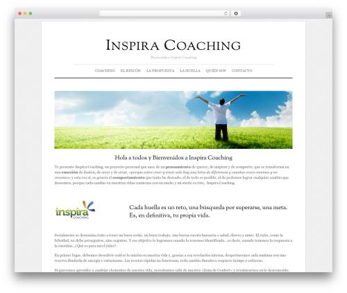 Elemin WordPress theme - inspiracoaching.com