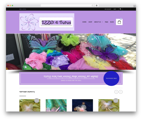 The Retailer premium WordPress theme - izzo4tutus.com
