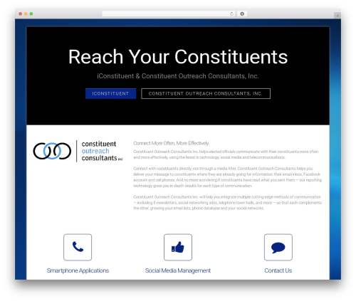 Theme WordPress DMS - iconstituentconsultants.com