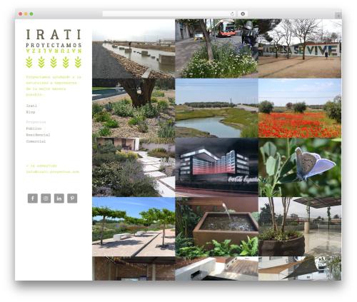Theme WordPress Mesh - irati-proyectos.com