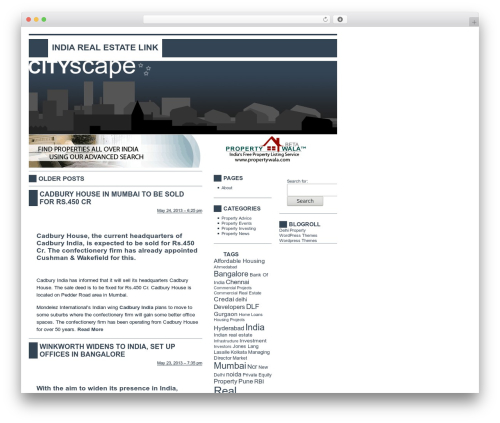 CITYscape best real estate website - indiarealestatelink.com