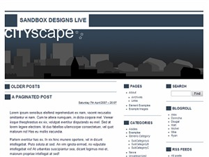 CITYscape premium WordPress theme