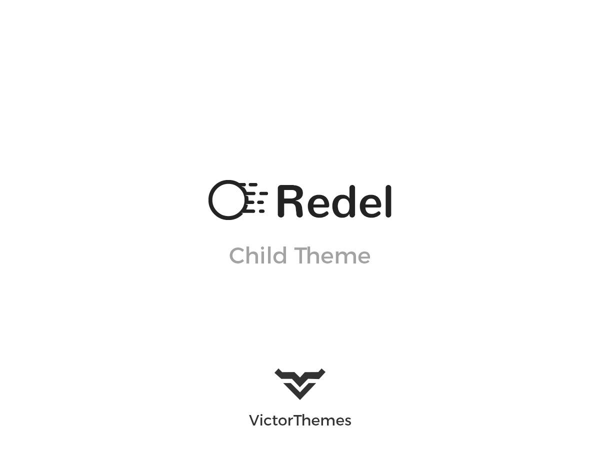 Redel Child top WordPress theme