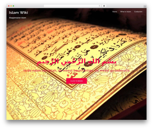 Sydney theme WordPress - islamwiki.nl