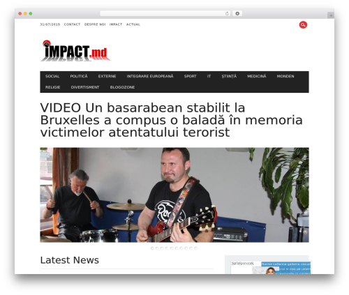 The Newswire theme WordPress - impact.md