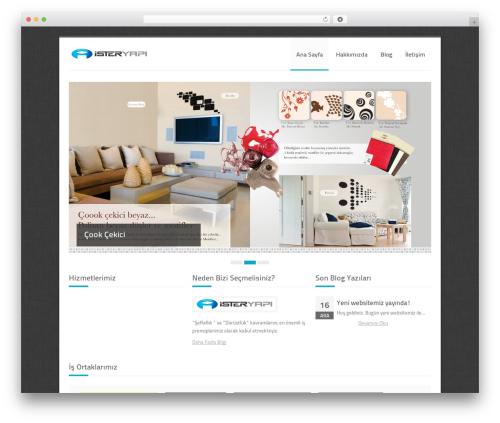 WordPress website template Crevision - isteryapi.com