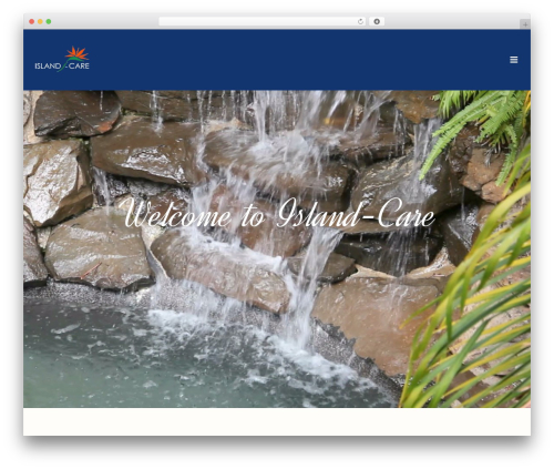 WordPress website template Jupiter - island-care.com