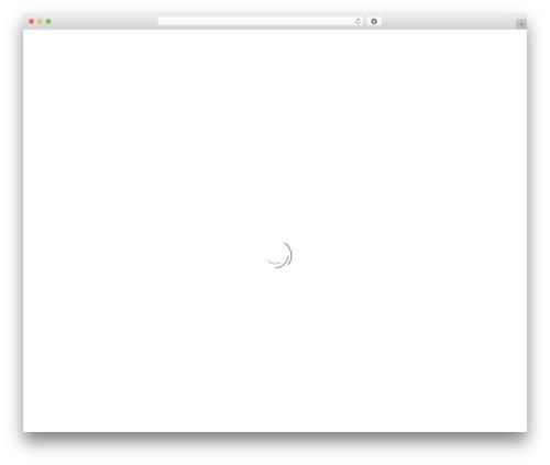 WordPress website template Stratus - i-gest.com
