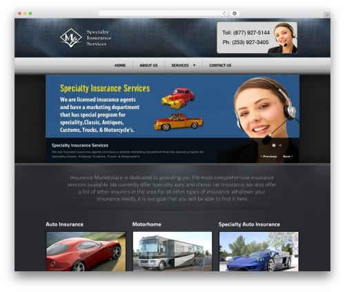 WP template Radial Premium Theme - insurance-marketplace.com