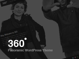 360 (Share on Theme123.Net) premium WordPress theme
