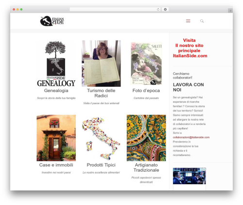 Best WordPress theme Betheme - italianside.it
