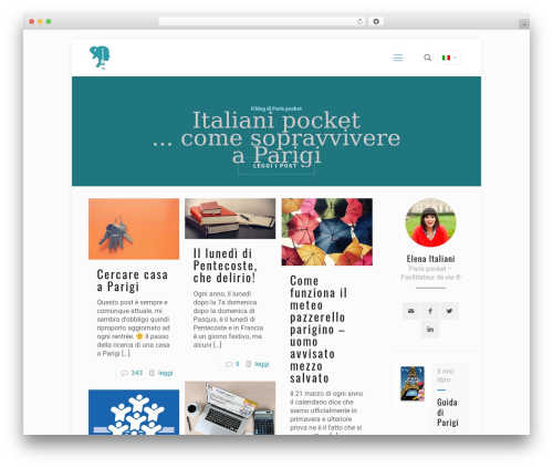 Best WordPress theme Betheme - italianipocket.com