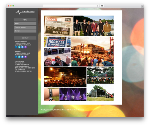 Blogly Lite WordPress template free - in-production.nl