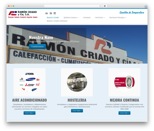Customizr best free WordPress theme - ramoncriado.com