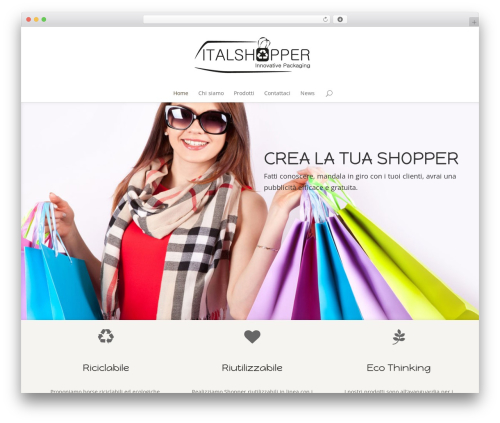 Divi best WooCommerce theme - italshopper.it